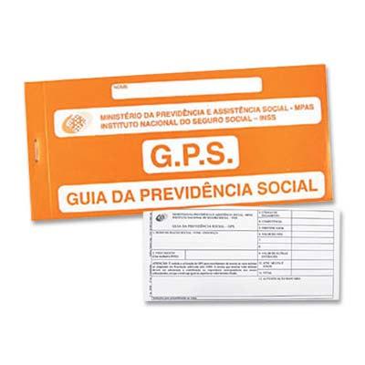 IMPRESSO CARNE INSS/GPS PACHECO || PCT C/20