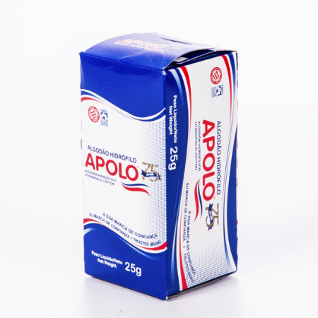 ALGODAO ROLO APOLO 25GRS || IND UNID