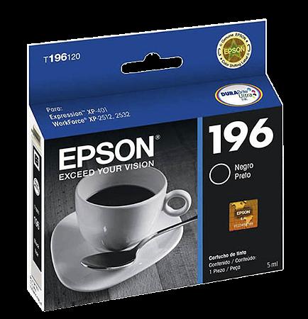 CARTUCHO EPSON T196120BR DURABRITE PRETO || CAIXA UNID