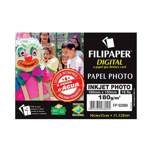 PAPEL FOTOGRAFICO INKJET PRO 10X15 240G R.2580 || PCT C/10