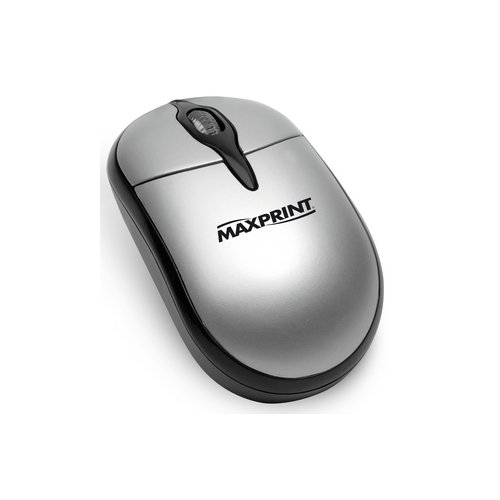 MOUSE OPTICO USB PRETO/PRATA REF. 605280 || UNIDADE