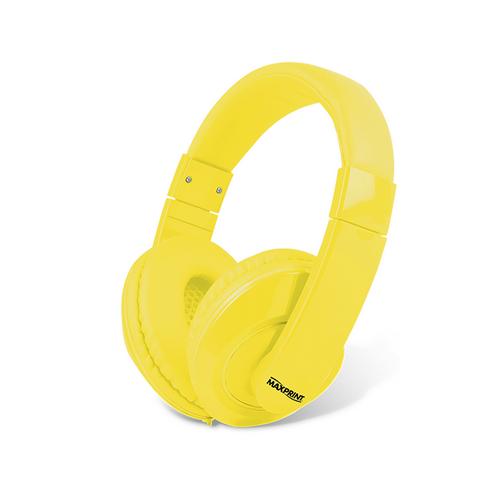 FONE HEADSET COLOR AMARELO R.601187-0 || UNIDADE