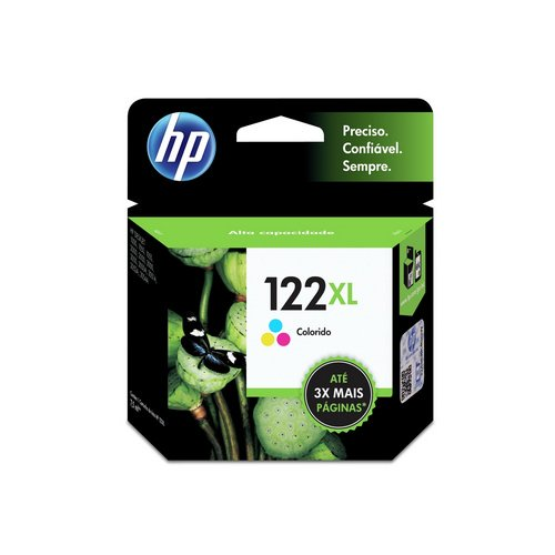 CARTUCHO HP CH564HB#122XL 7,5ML COLORIDO    UNIDADE