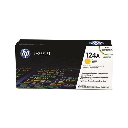TONER HP Q6002AB 2600 AMARELO || UNIDADE