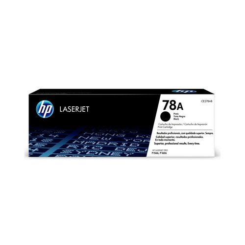 TONER HP CE278AB P1566/P1606DN PRETO || UNIDADE