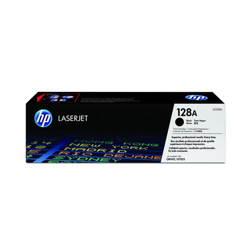 TONER HP CE320AB PRETO || UNIDADE