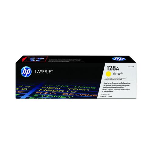 TONER HP CE322AB AMARELO || UNIDADE