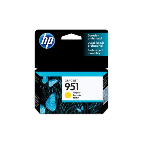 CARTUCHO HP CN052AB#951 8ML AMARELO || UNIDADE