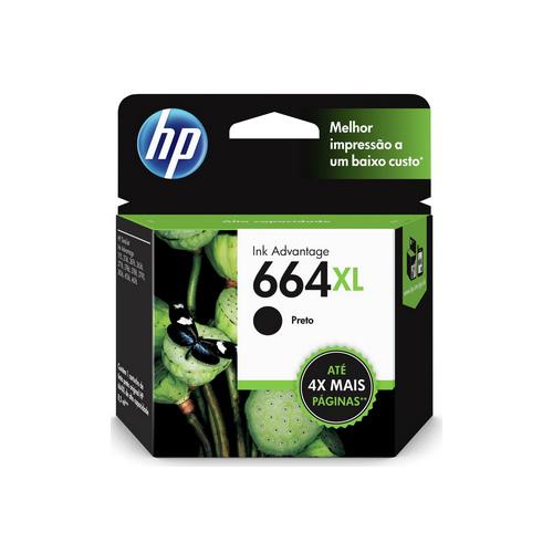 CARTUCHO HP F6V31AB#664XL HP 1115 PRETO || UNIDADE