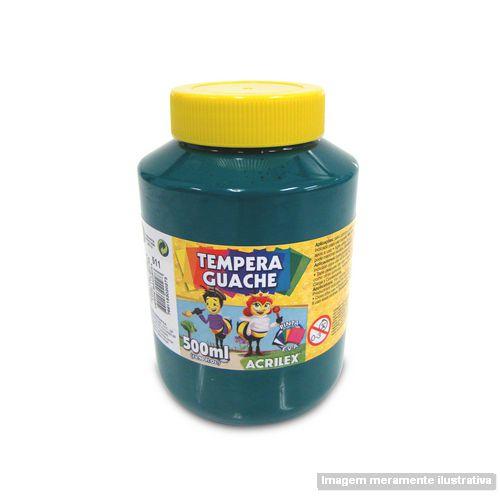 TEMPERA GUACHE 02050 500 ML 511 VERDE BANDEIRA || IND UNID