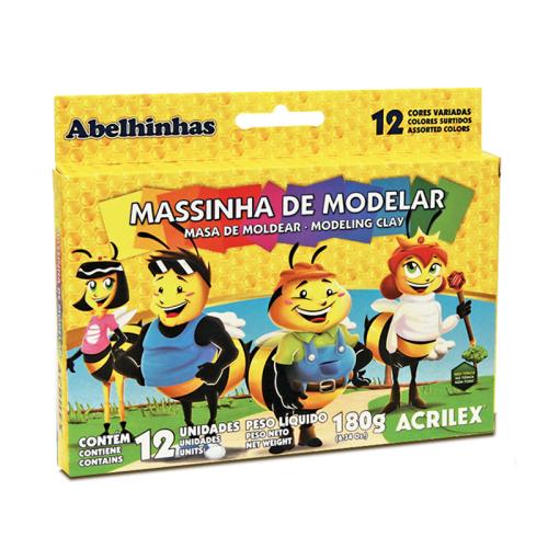 MASSA P/MODELAR 12 CORES R.07012