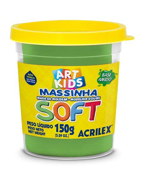 MASSA P/MODELAR SOFT COPO 150GR 101 VERDE