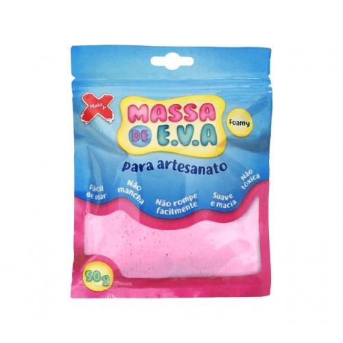 MASSA EVA P/ARTESANATO 50GRS ROSA BEBE R.13009 || UNIDADE