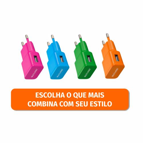 CARREGADOR DE PAREDE USB SORTIDO R.CB080