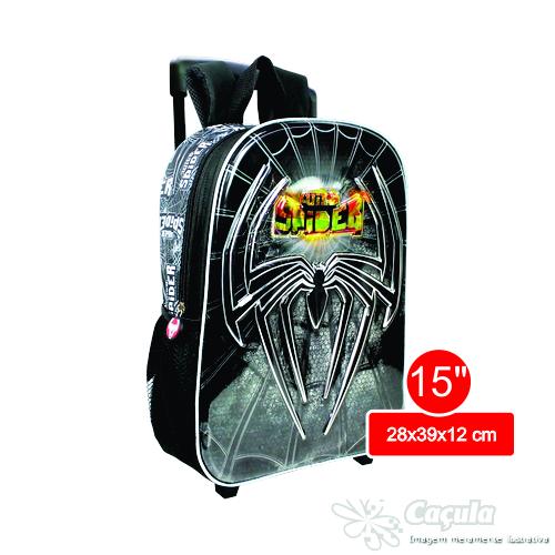 "CARRINHO C/ MOCHILA KIT SPIDER 15"" 8D 10371SL-8D | ATACADO-IND UNID"