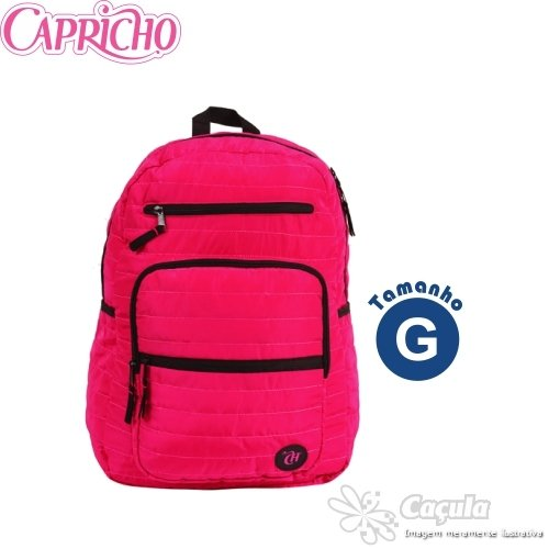 MOCHILA CAPRICHO PUFF RED GD R.48943 | UNIDADE