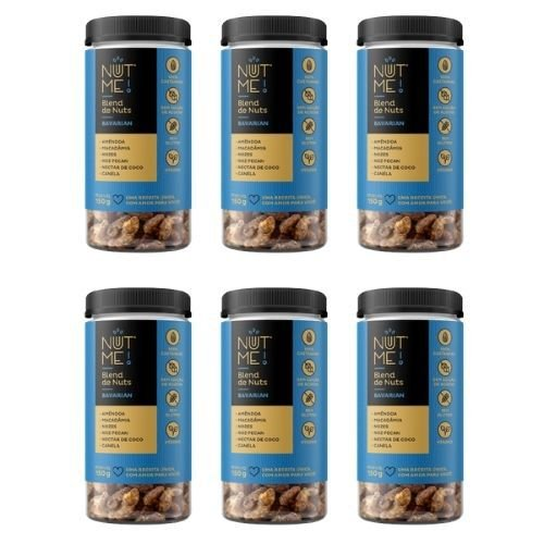 Combo Blend de Nuts Bavarian Pote 150g