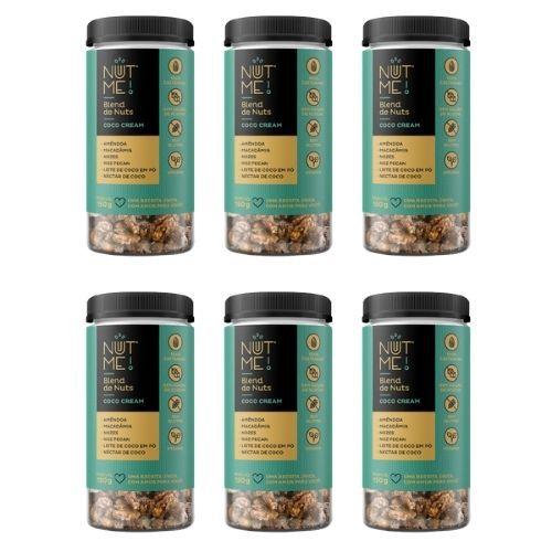 Combo Blend de Nuts Coco Cream Pote 150g