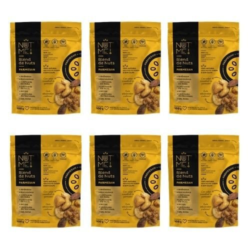 Combo Blend de Nuts Parmesan Pouch 100g