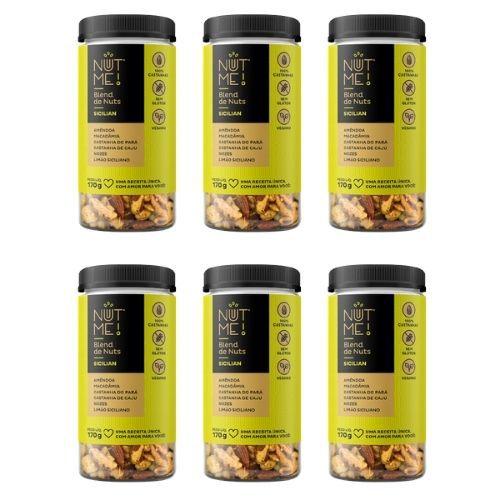 Combo Blend de Nuts Sicilian Pote 170g