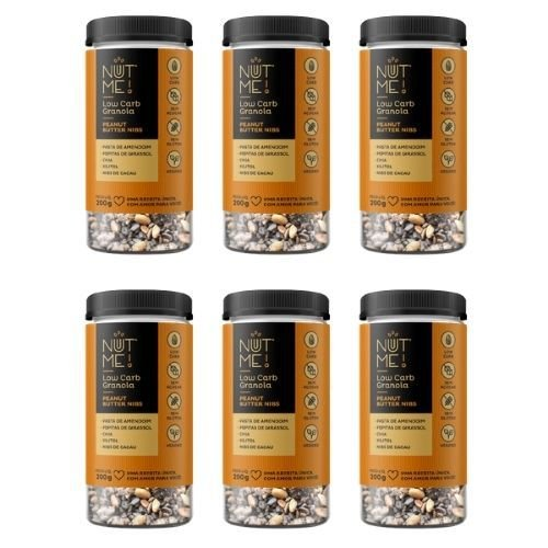 Combo Low Carb Granola Peanut Butter Nibs 200g