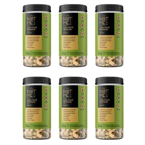 Combo Low Carb Granola Salty 200g