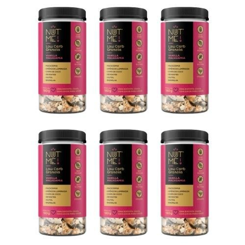 Combo Low Carb Granola Vanilla Macadamia 180g