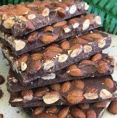 Barra de chocolate com Amêndoas 1Kg