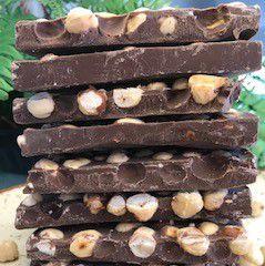 Barra de chocolate com Avelã 200g