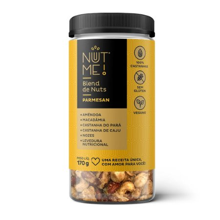 Blend de Nuts Parmesan Pote 170g