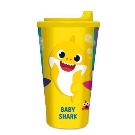 Copo Plástico Infantil Tubarão - Cromus