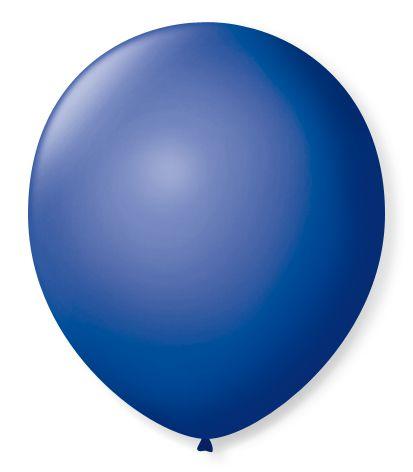 Balão Nº7 Azul Cobalto 50 un -  São Roque