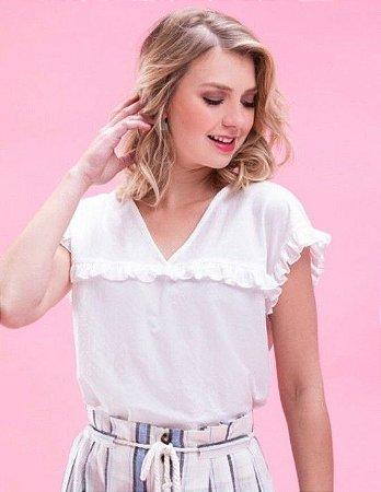 Blusa Lia Branca