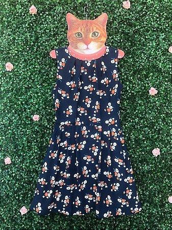Vestido Floral Laranja