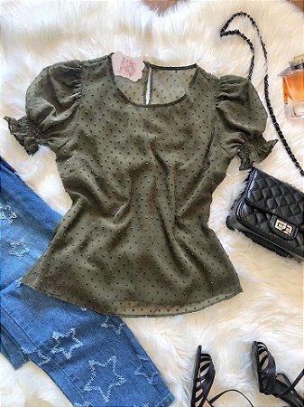 Blusa Doroty Verde Musgo