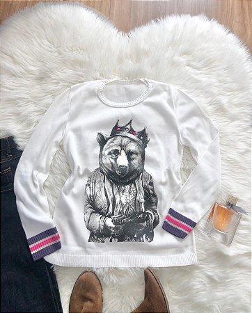 Blusa Pet Urso Baloo