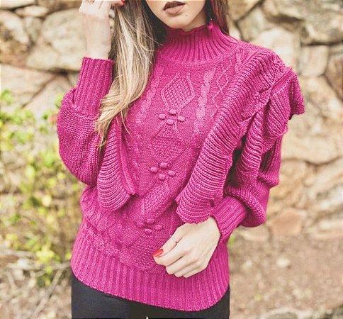 Blusa Vitoriana Pink