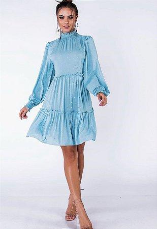 Vestido Marta Azul