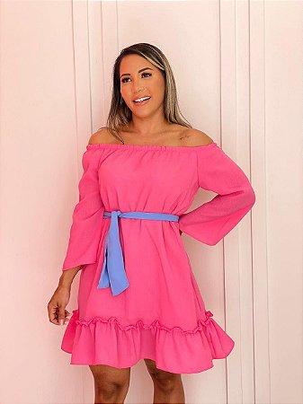 Vestido Amália Pink