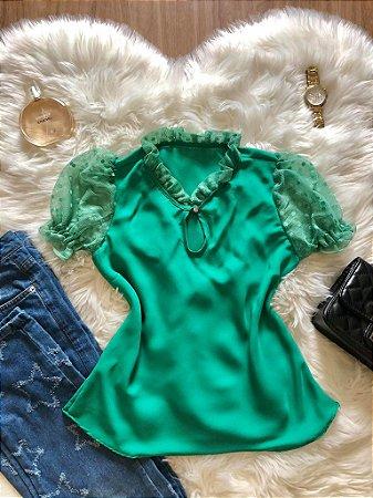 Blusa Dóra Verde