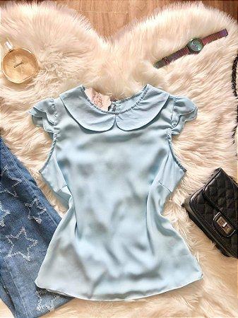 Blusa Bela Azul Bebê