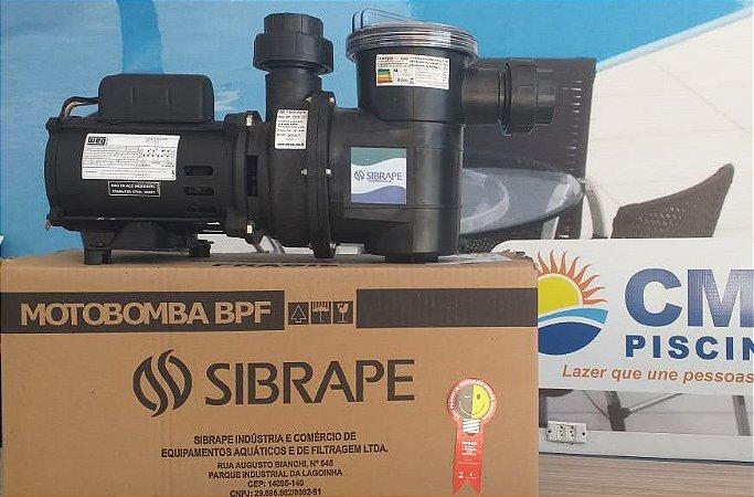 Motobomba 1/3 CV - Motor Weg - Sibrape