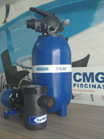 Conjunto Filtrante Syl30 + Motobomba 1/3 Cv - Syllent