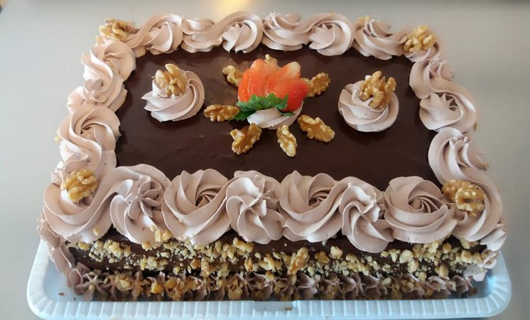 Torta Choconozes – Chocolate com Nozes