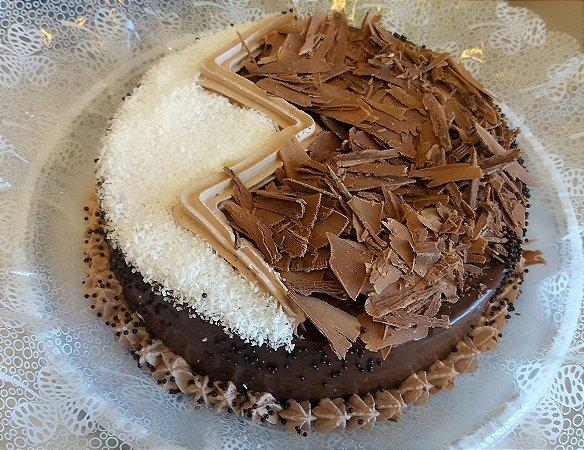 Torta Prestígio - Chocolate com Coco