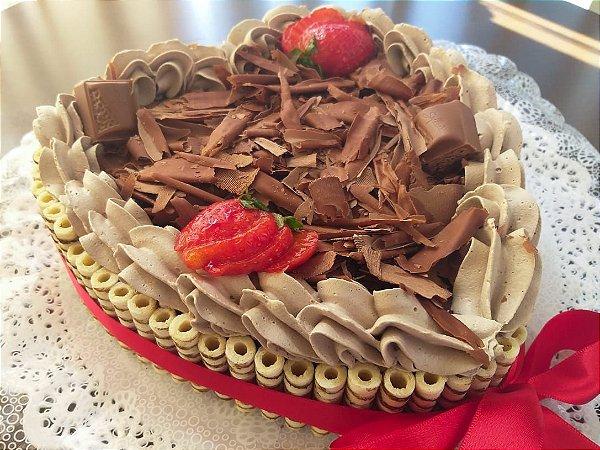 Torta Formato Coraçao