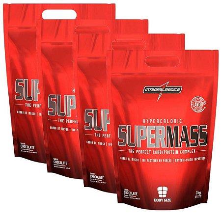 SUPERMASS - Hipercalórico Integralmedica - 3kg - Refil