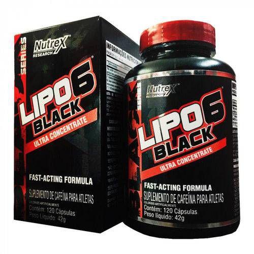 Lipo 6 Black - 120cps