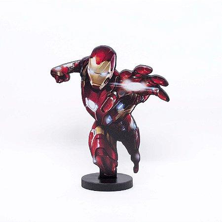 Boneco Mini Toten HOMEM DE FERRO Avengers