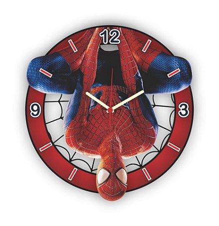 Relógio de Parede Avengers Homem Aranha